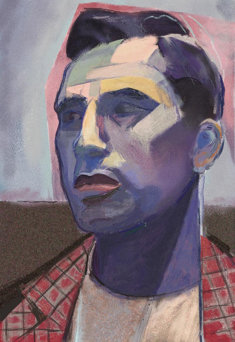 Retrato Azul
